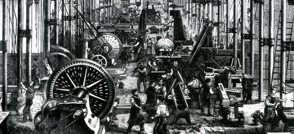 Revolución Industrial (grabado)