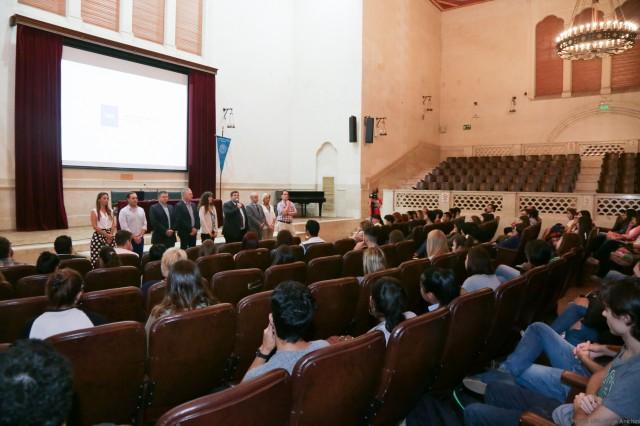 Recibieron a los inscriptos a las carreras de Ingeniería Ambiental, Licenciatura en Química, Licenciatura y Profesorado en Letras