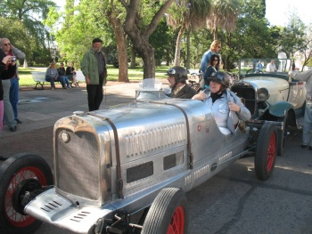 Auto Racing Digest Magazine on City Of Esperanza 40 Km West From Sfe Winner Of Old Car Racing